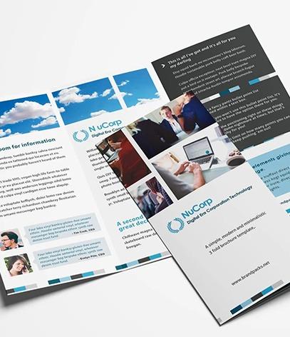 Description brochure commerciale